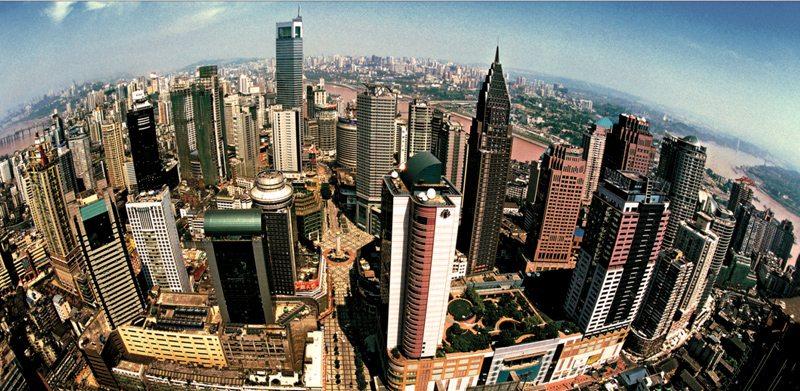 Compact Chongqing-down town of Yuzhong district. Source: http://www.cqyz.gov.cn/web1/info/view.asp?id=3888
