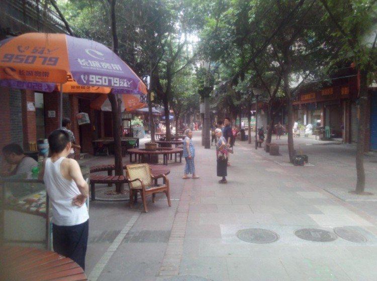 Dynamic walking space in Chongqing. Photo: Pengfei Xie