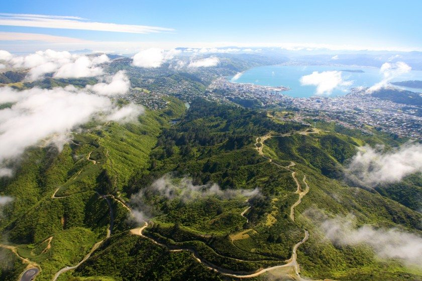 ZEALANDIA from Air Photo Creit - Rob Suisted