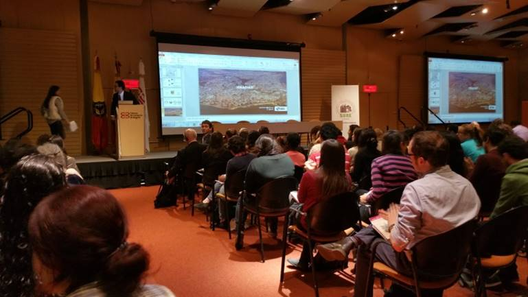 Urban Ecology Symposium in Bogotá. Photo: Ana Faggi