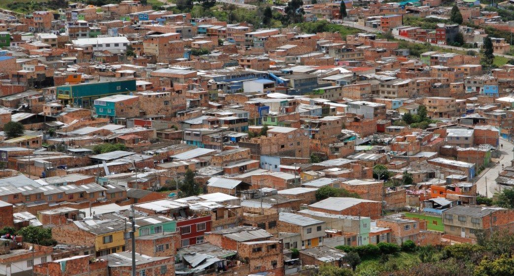 Las Violetas neighborhood, South Bogotá. Las Violetas neighborhood, Bogotá sur.Photo: Daniel Pineda