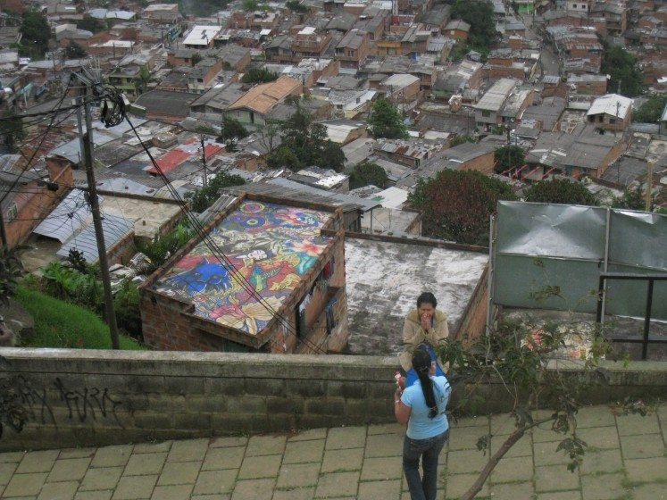 11th Commune in Medellin, Colombia. Photo: Diana Wiesner