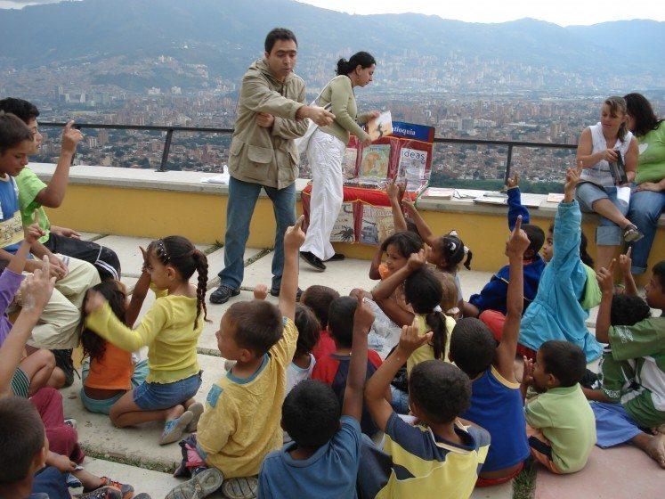 Commune in Medellin. Photo: Gustavo Restrepo