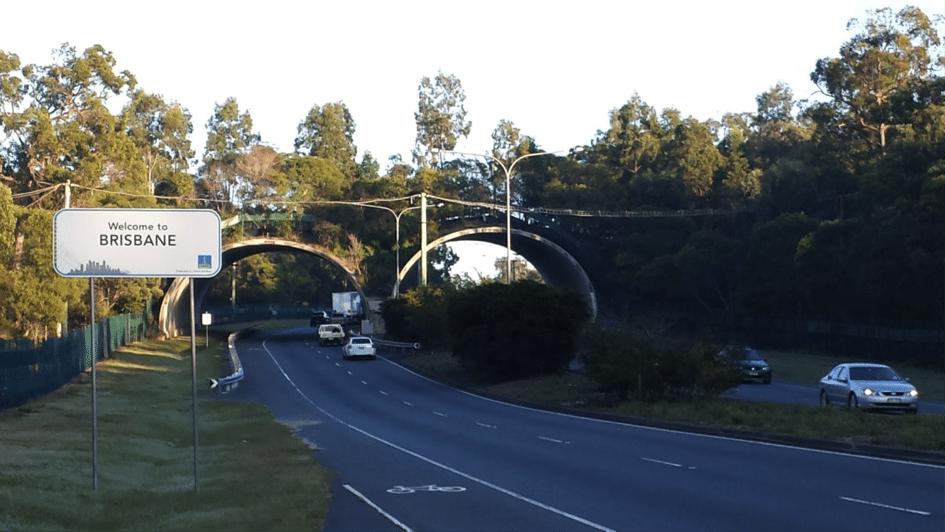 Ecoduct in Brisbane