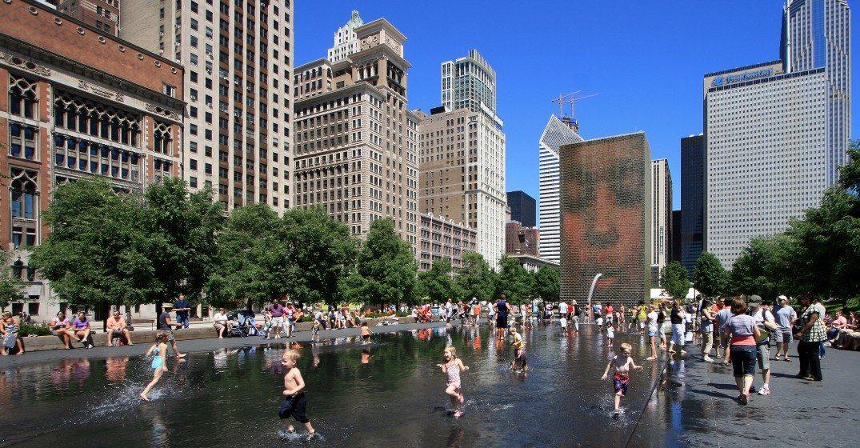 Millenniuim Park, Chicago, 2008