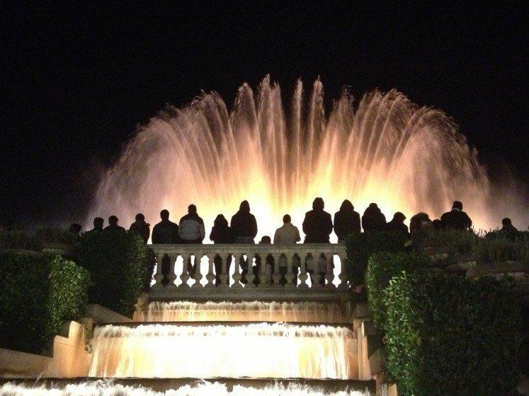 Fountains, Montjuic, Barcelona