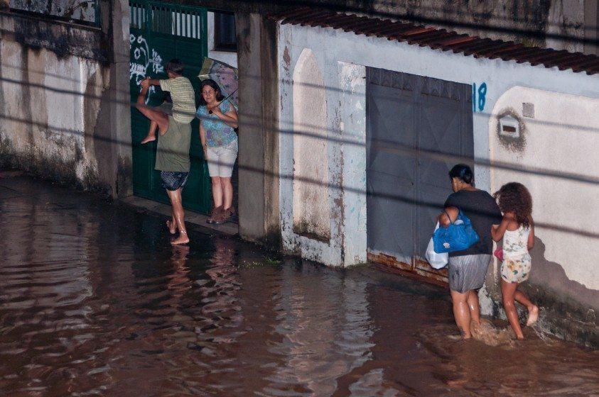 Flooding—Rio de Janeiro—Photo Donatas Dabravolskas