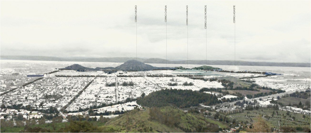 Hills in Santiago (Credits Carbonell & Soto)
