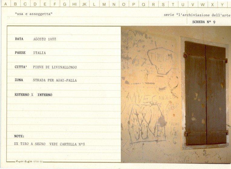 Emilio Fantin. Abandoned refuge. Dolomites.1988