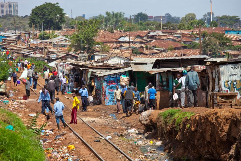 Kibera, Nairobi, Kenya. Photo: Mathare Valley. Source: Alamy.com