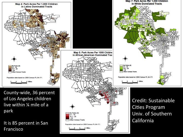 Los Angeles access to parks--David Maddox