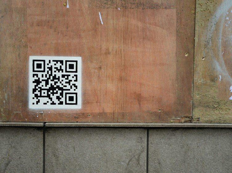 QR Code graffiti 300dpi