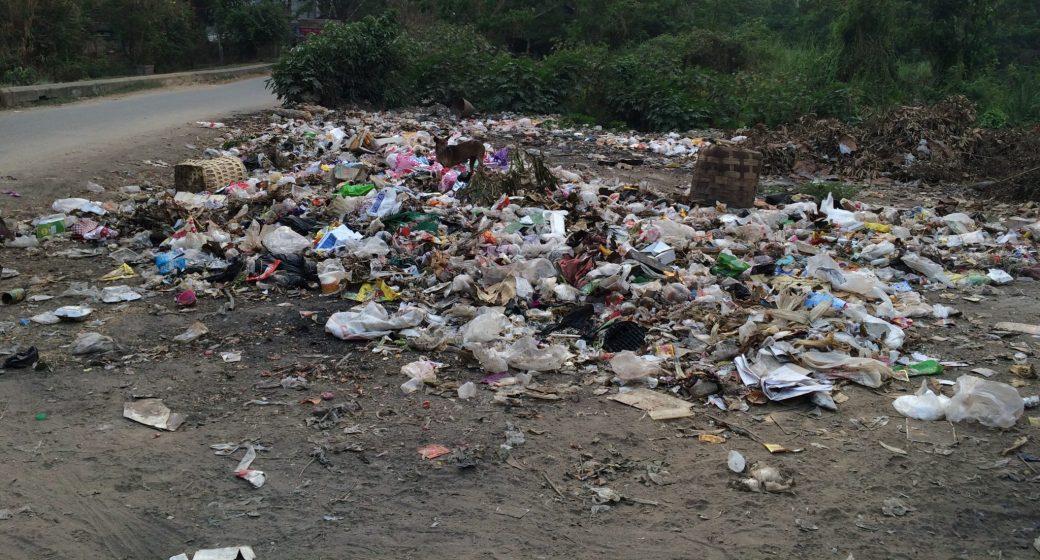 Trash in Myanmar