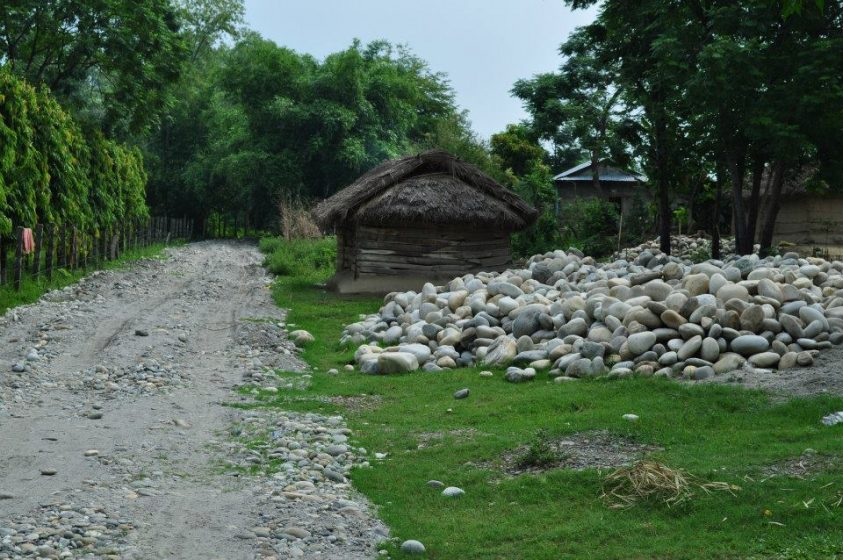 chitwan_communityforest_gravel