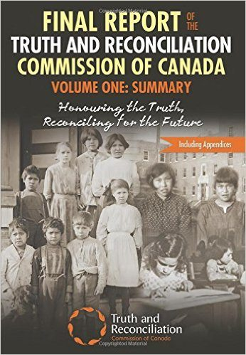 TRC Commission report cover 2