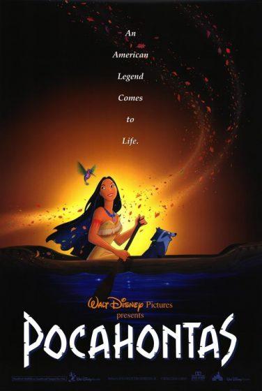 pocahontas film poster