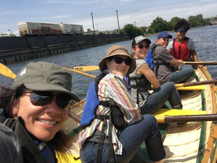 ad09124bda Our team at Rocking the Boat. Photo  Adrina C. Bardekjian
