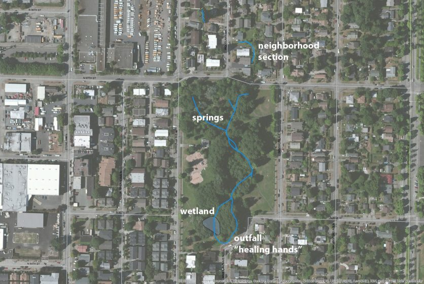 Map and Explore: Hidden Hydrology – The Nature of Cities