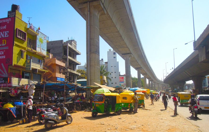 simple essay on bangalore city