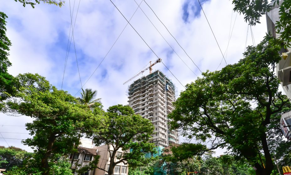 Street trees still dominate the aerial view in many parts of southern Bangalore – although the buildings are now beginning to compete for height. Photo credit: Suri Venkatachalam