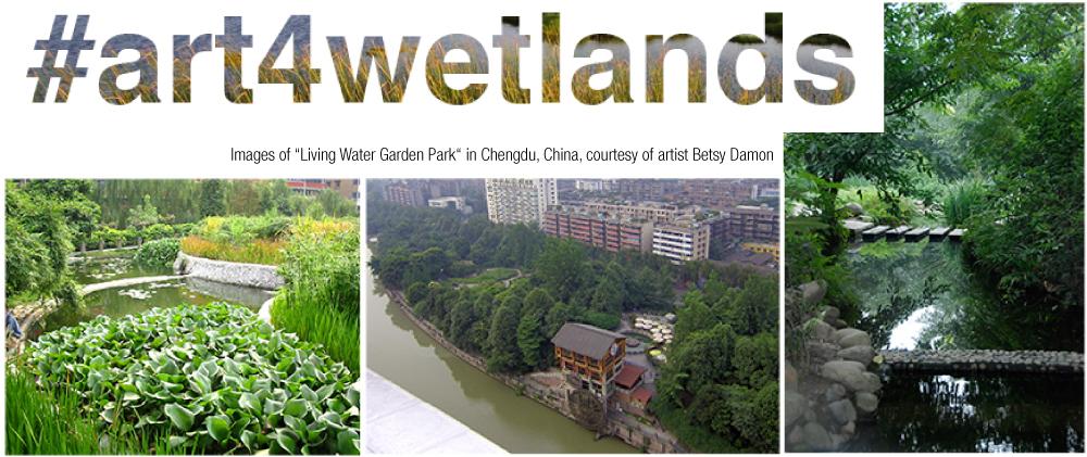 """507f23fe1089fd Photographs of Betsy Damon s """"Living Water Garden Park"""" in Chengdu"""