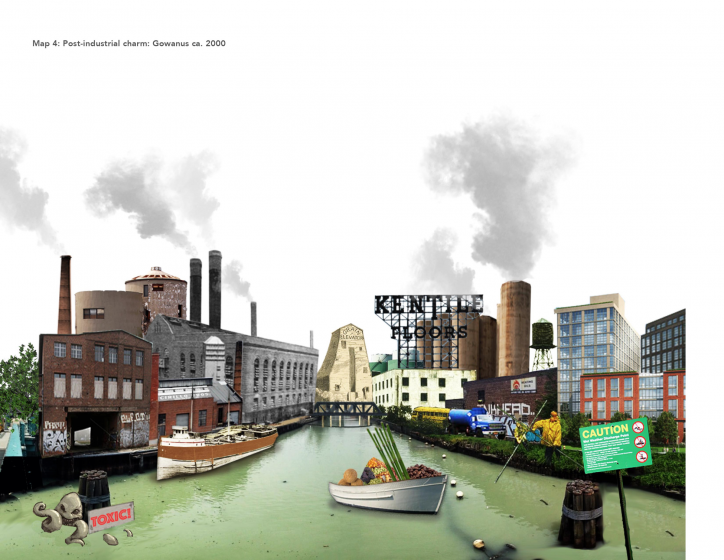 Map Iv Is A Representation Emphasizing The Industrialization Of Gowanus Canal Credit Ruchika Narendra Lodha