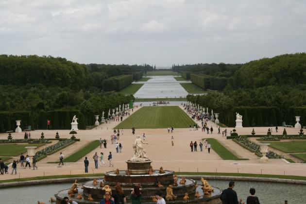 versailles has rich biodiversity within its garden
