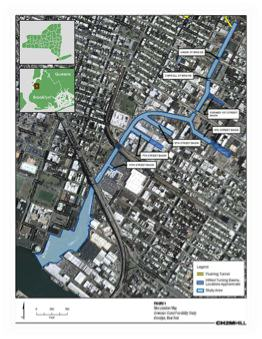 Map of the Gowanus Canal Superfund Study Area. Credit: EPA Feasibility Study http://www.epa.gov/region2/superfund/npl/gowanus/pdf/2011-12-19_Gowanus_Canal_Draft_Text.pdf