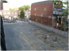 Schoolyard at P.S. 164 in New York before renovation. Credit: Trust for Public Land