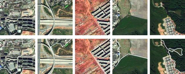 Kunming, China. Patch boundary examples. Credit: Victoria Marshall and Colin Macfadyen