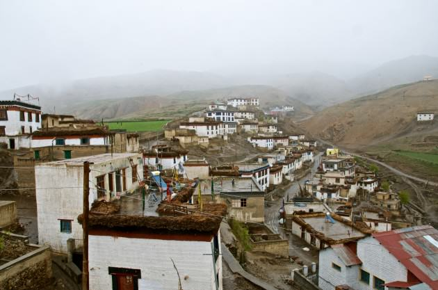 Kibber village. Photo: Madusudan Katti