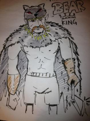 The Bear King: environmental villain