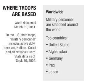 where troops are basedSplit1