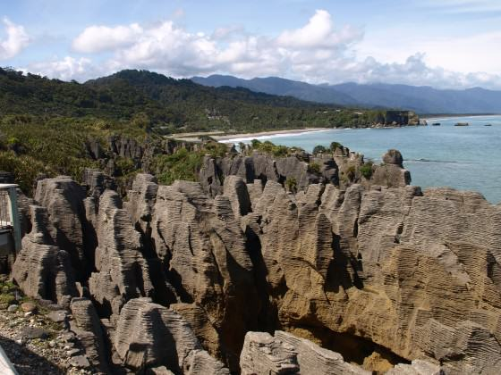 The 'pancake rocks' at Punakaiki, Paparoa National Park, NZ. Photo: Glenn Stewart