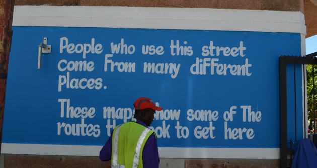 Different people know different natures. Graffiti from Cape Town. Photo: