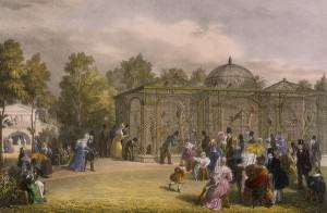 London Zoo Monkey House in 1835