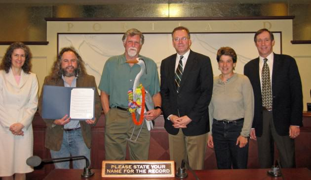 3c Great Blue Heron Week photo City Council Photo Emily Hicks
