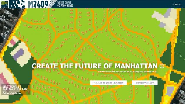Mannahatta2409.org is an on-line forum to help New Yorkers develop and share sustainable and climate-resilient designs for New York City.