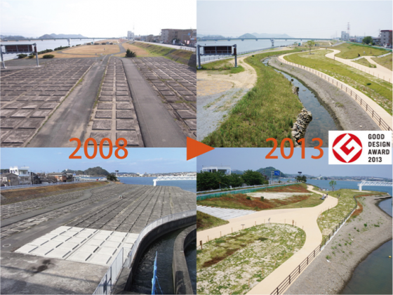 Changes in five  years at the project site. Credit: Keitaro Ito.