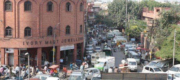 A street in Delhi. Photo: David Maddox