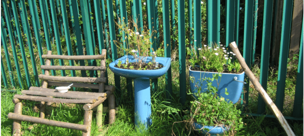 citizen made infrastructure bathroom planter