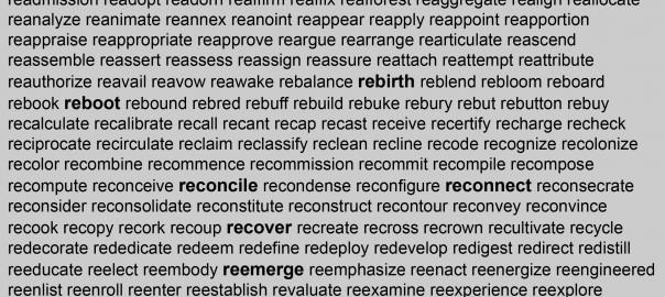 Re-words