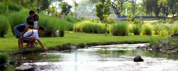 Bishan-Ang Mo Kio Park in Singapore. Photo: Atelier Dreiseitl